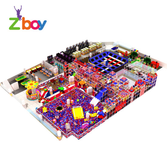 Plastic Soft Play Playground Material and Indoor Playground