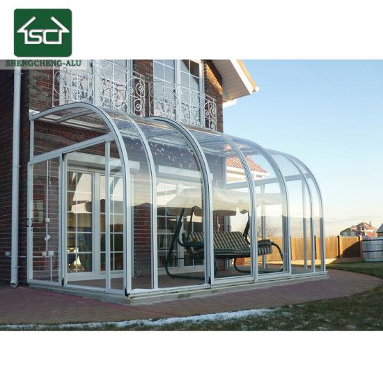China Customized Aluminum Lowes Sunroom Glass Sunrooms China