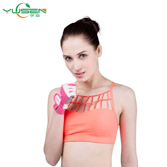 fb0a6300ce China Fashionable Yoga Girls Running Fitness Lady Seamless Sport Bra ...