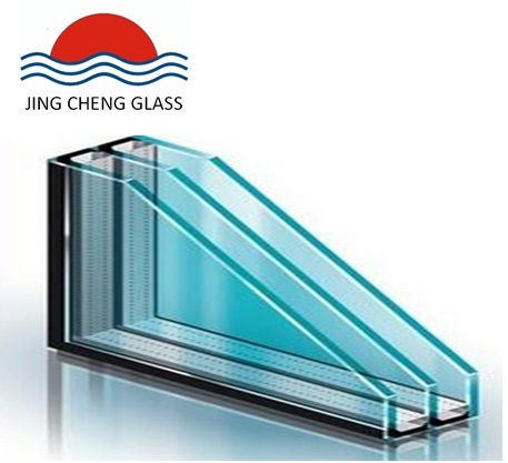 5 + 12A + 5 + 12A + 5 Three Glass and Two Cavity Insulating Glass for Doors and Windows