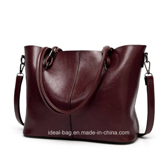 006cfa827da3 Custom Fashion PU Leather Ladies Crossbody Shoulder Sling Bag Woman Brand  Designer Luxury Tote Lady Handbag Wholesale