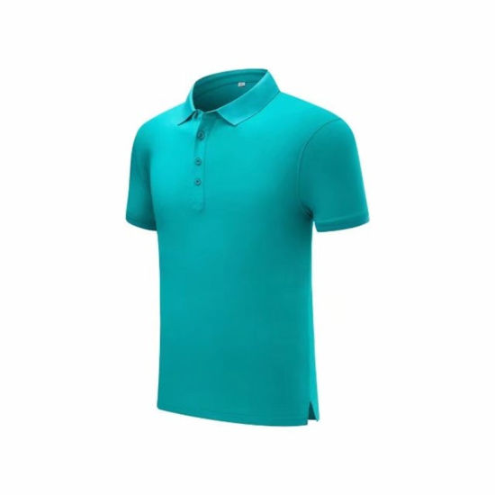 Hot Sale 100% Cotton Golf Polo Shirt for Summer