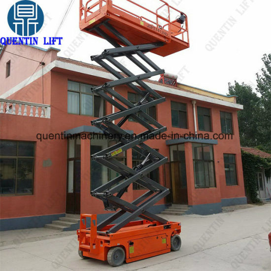 Airport Practical Hydraulic Jlg/Genie Equivalent Scissor Mobile Lift  Electric Man Lift