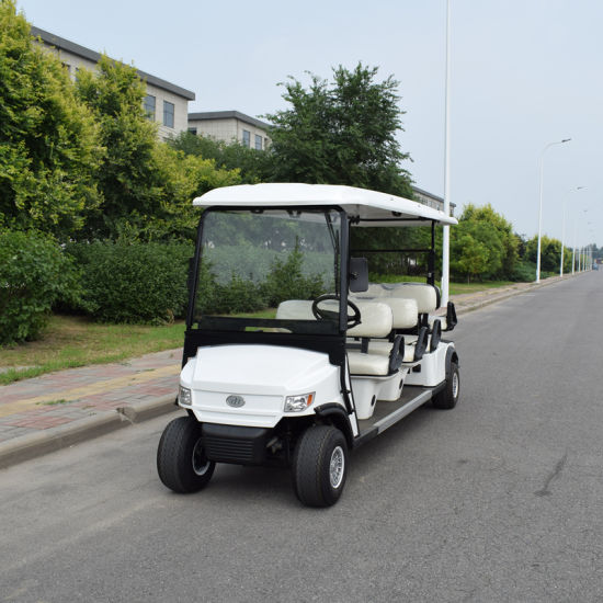 Hot Selling 8 Seaters Electric Golf Utility Vehicles pictures & photos