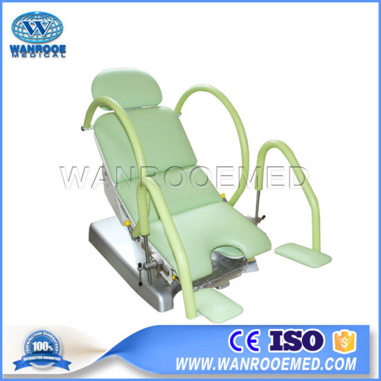 a-S105b Medical Equipment Electric Gynecology Treatment Delivery Table pictures & photos