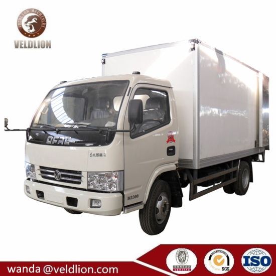 Cheap Price Chinese Manual 6cbm 6 Tons Refrigerator Cold Room Van Truck