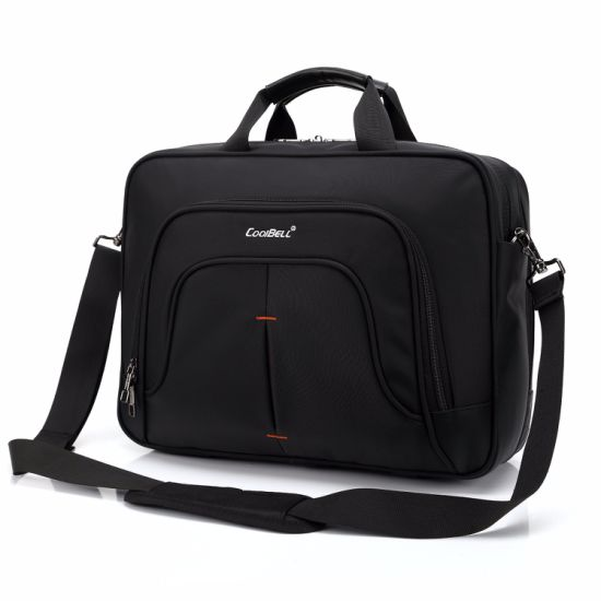 Men Single Shoulder Business Computer Portable Notebook Laptop Bag (CY8938) pictures & photos