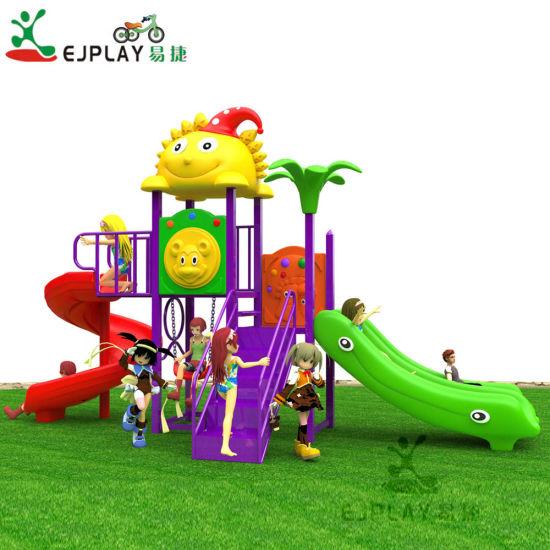 Cheap Sun Roof Plastic Playground Equipment Galvanized Pipe 76mm