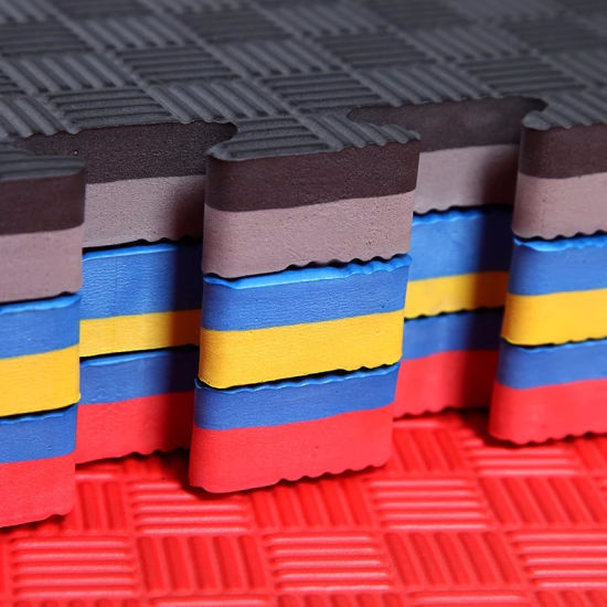 Factory Wholesale Price EVA Foam Puzzle Exercise Mat Tatami Mat for Taekwondo/Judo/Kickboxing/MMA/Material Arts Use