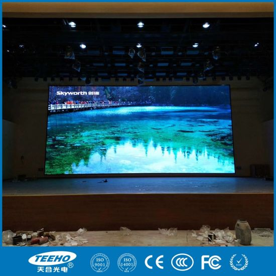 LED Small Pixel High Contrast P2.5 for Stage