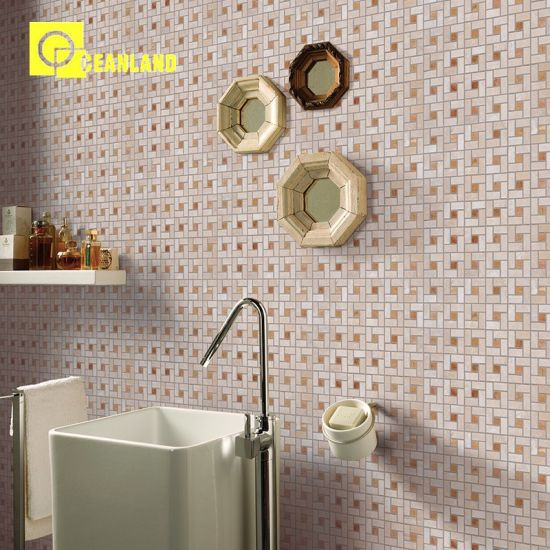 Rough Lapato Tile for Glossy Surface Crystal Mosaic Flooring pictures & photos