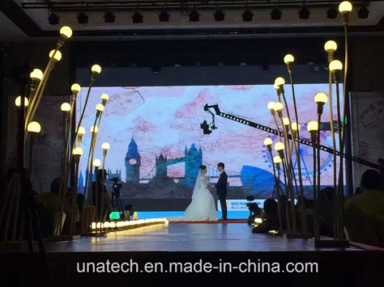 Outdoor/Indoor High Brightness Promotional Event/Wedding Party/Stage Moveable Die-Cast Aluminum Cabinet Rental LED Screen Display