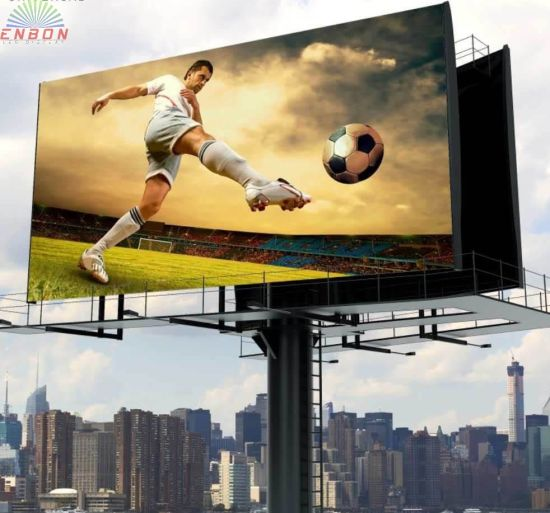 Wireless Control HD Full Color Outdoor Video LED Display for Advertising Screen (P4 P5 P6 P8 P10 board)