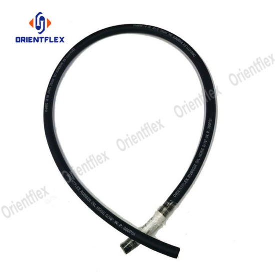 China 3/4′′ Flexible Oil and Resistance Rubber Hose - China