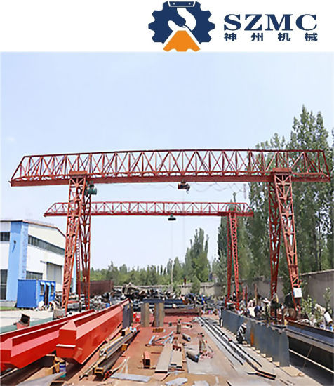 Hot Sale in Southeast Asia Mhh 3t 5t 10t 16t 32t Electric Rope Hoist Gantry Crane of Trussed Type Workshop Machine Warehouse Equipment Power Plant Machinery pictures & photos