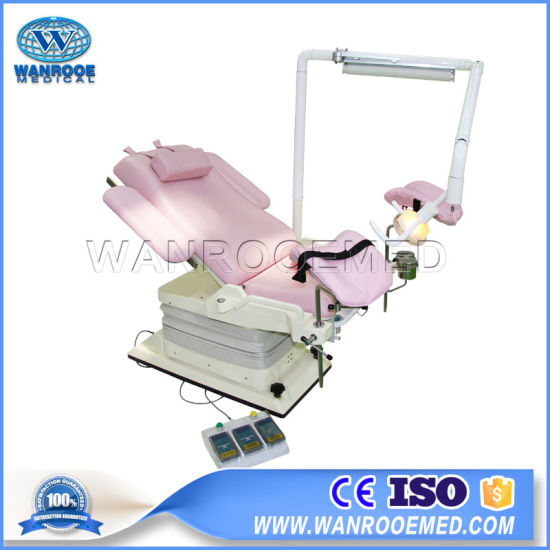 China Electric-Hydraulic Gynecology Surgery Bed - China
