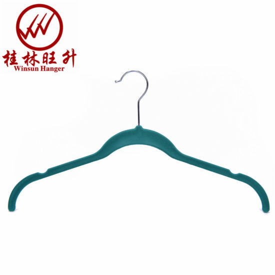 Ultra Thin Custom Velvet Clothes Hangers 2020 Best Selling Amazon Hangers