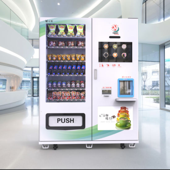 New Combo Drink & Snack and Bean Coffee Vending Machine