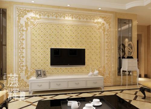 Ceramic Painting Wall Tile B 038, B & B Furniture