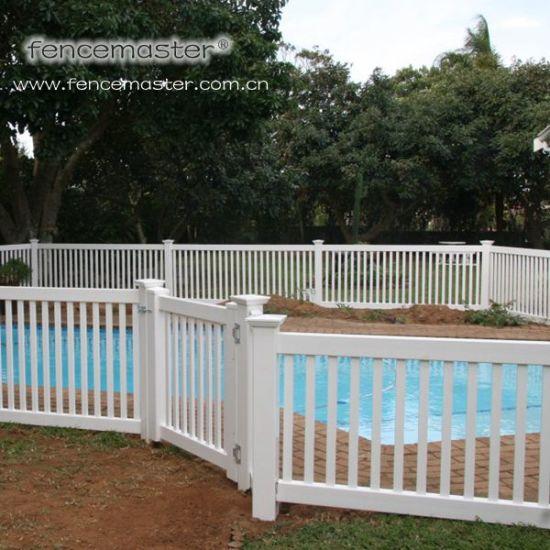 Waterproof Vinyl Pool Fence