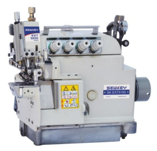 Sk-Ext5100 Cylinder Bed High Speed Overlock Sewing Machine