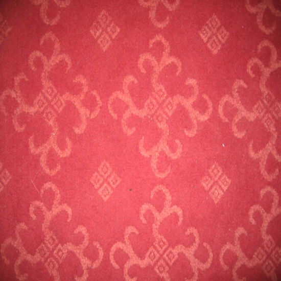 Double Color Jacquard Non Woven Carpet pictures & photos