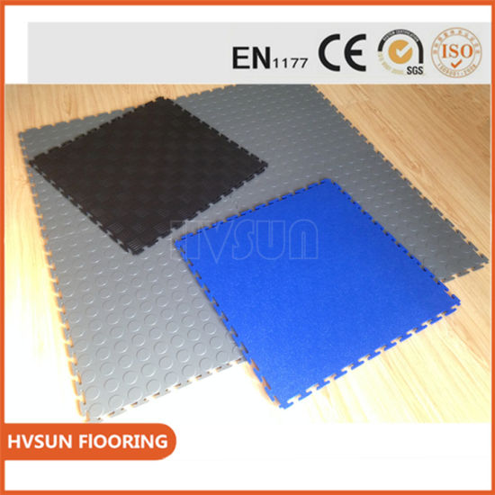PVC Gym Floor Mats With Multipurpose Plastic Tiles For Bathroom