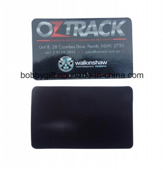 Promotion printing magnetic business card sticker souvenir fridge magnet