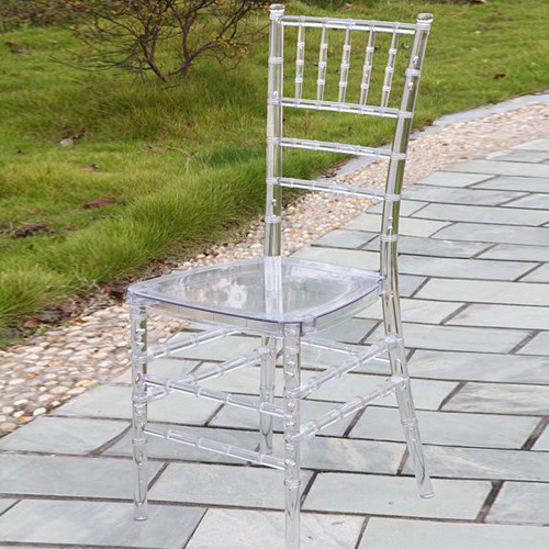Ice Tiffany Chair in Clear Color