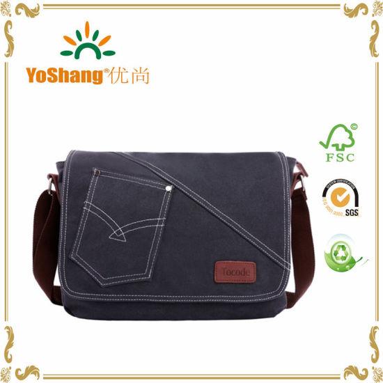 339543f377922d Canvas Messenger Bag Shoulder Bag Laptop Bag iPad Bag Bookbag Satchel  School Bag College Bag Purse Daypack