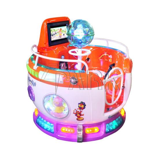 Rotating Kids Ride Coin Pull Amusement Equipment
