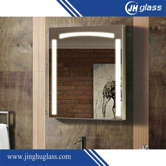 China 5mm Silver Rectangle LED Lighted Mirror for Bathroom - China ...