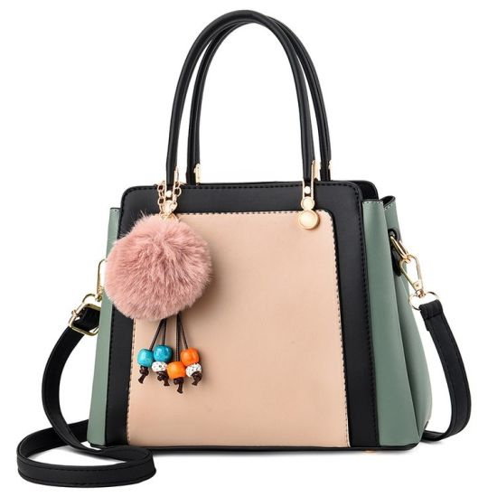 PU Fashionable Lady Handbags pictures & photos
