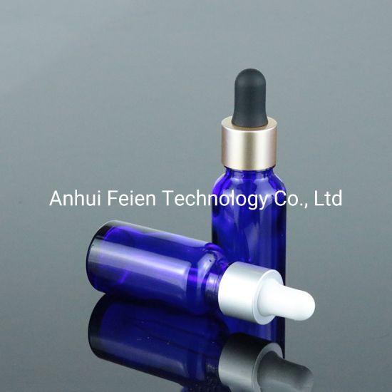 Factory Glass Cosmetic Dropper Bottles Essential Oil Glass Bottle 50ml 100ml with Matt Gold Dropper