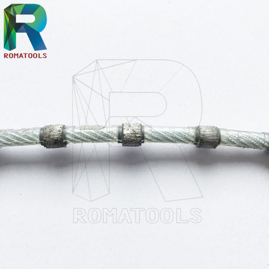 China Diamond Wire Saws for Marble, Granite, Stone Quarry Cutting ...