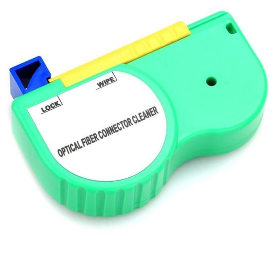 fibra optica cleaning tool Optical Fiber Optic Connector cleaner