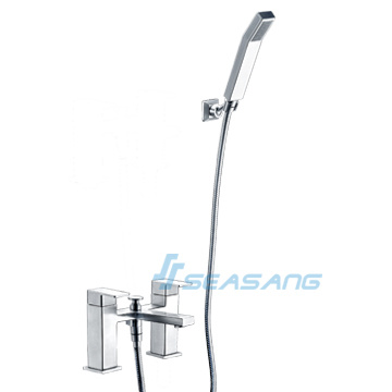 Stainless Steel Bath Tub Shower Set with Handheld Faucet