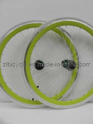 700c Fix Gear Bike High Quality CNC Wheel Sets