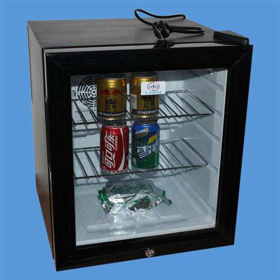 Glass Door Hotel Minibar with 40L