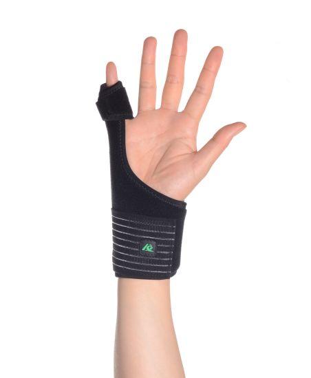 Splinting broken dip thumb
