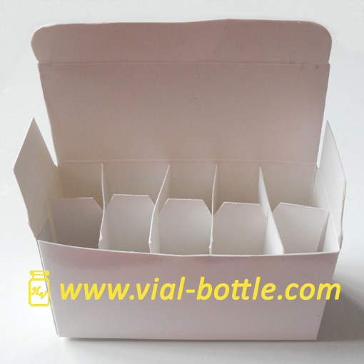Blank Box with Divider for 10 Units 2ml/3ml Vial HGH or Other Use pictures & photos