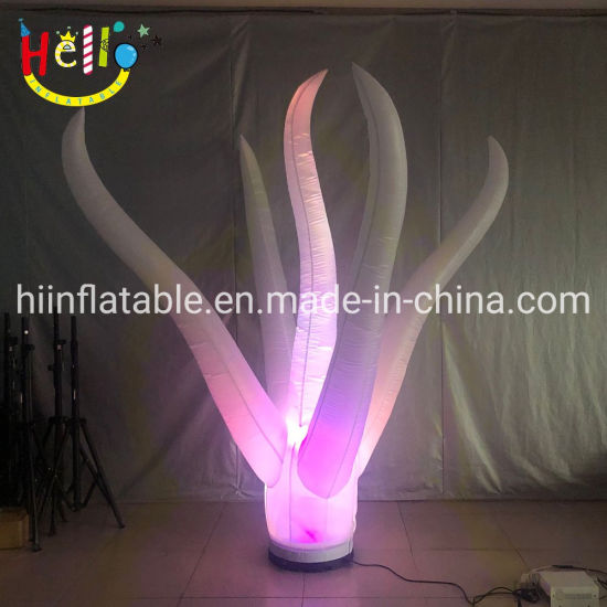 Event Decoration Inflatable LED Color Changing Air Pillar Column