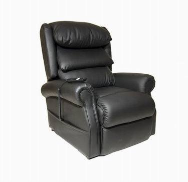up and Down Leather White Massage Recliner Lift Sectional Sofa pictures & photos