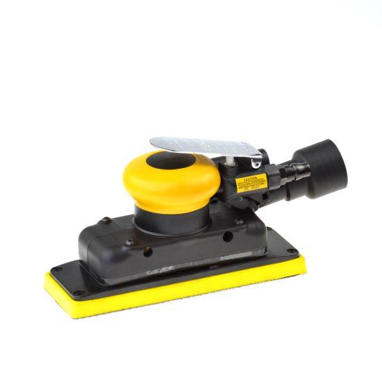 Orbital Rectangle Air Sander Tool OEM Dual Action Power Tool 5mm for Wood Stone Metal
