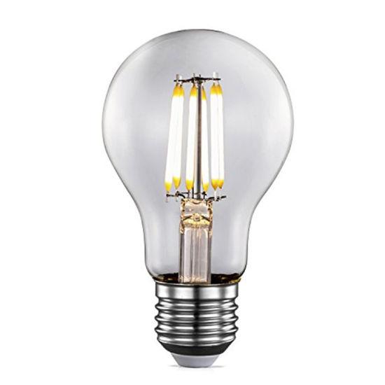 Wholesale Price 4W 6W 8W 10W 12W Edison Lamp E26 E27 Dimmable A60 LED Filament Bulb LED Lamp