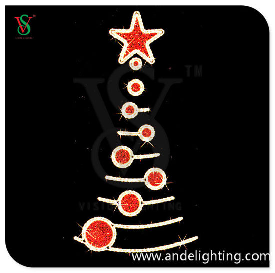 Merry Christmas Tree Light LED Pole Motif Light pictures & photos