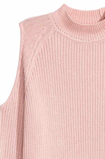 Women Fashion Heavy Winter Sweater Clothes Jackquard Knitting