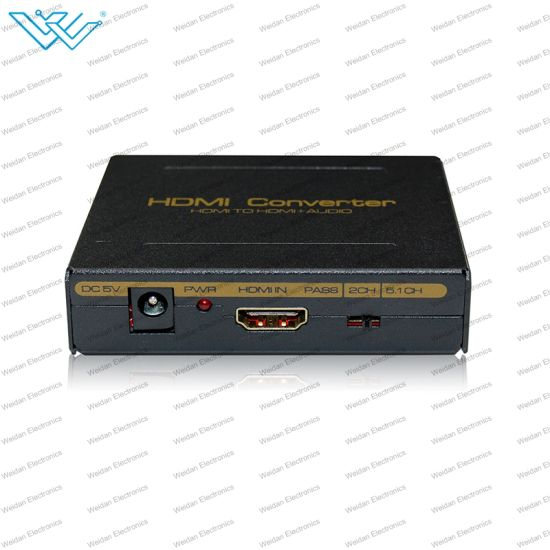 HDMI to HDMI+Audio (SPDIF+LR) Converter Audio Extractor