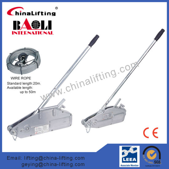 China Wire Rope Pulling Hoist, Wire Rope Winch, Aluminium Body ...