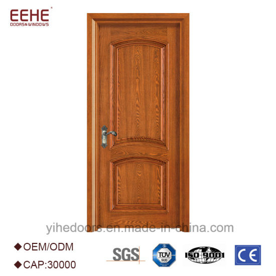 Latest Design Wooden Doors Simple Teak Wood Door Designs  sc 1 st  Guangdong EHE Doors u0026 Windows Industry Co. Ltd. & China Latest Design Wooden Doors Simple Teak Wood Door Designs ...